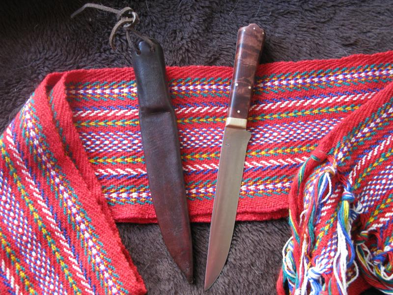 Bolstered Belt Knife